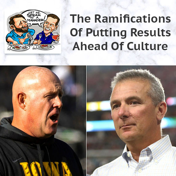 The Ramifications Of Putting Results Ahead Of Culture